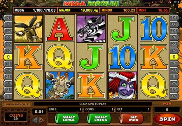 Mega Moolah Slot Play Online for Real Money