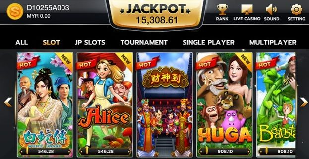 The Advantages of Online Slot Games