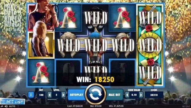 Play Guns N 'Roses Slot Online