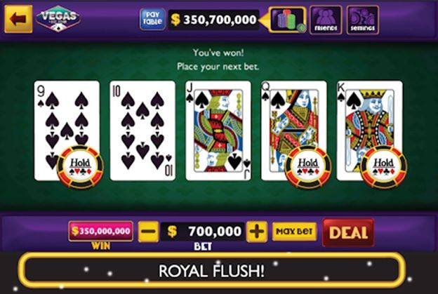 Rules of Video Poker Game