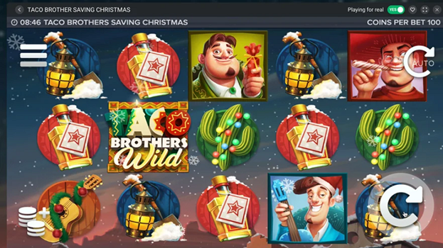 Have Fun with the Christmas Taco Slot