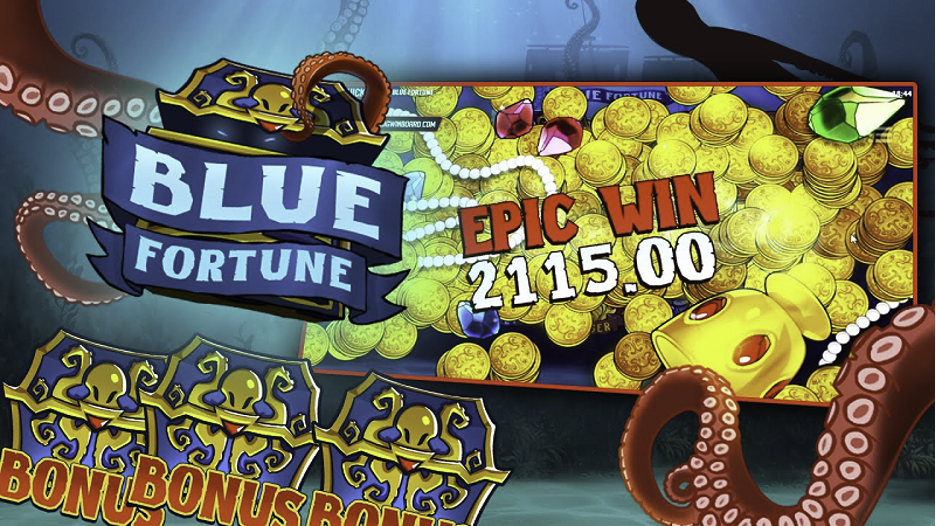 Play the Blue Fortune Slot Game