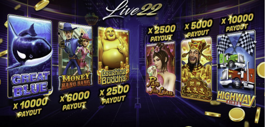 Live22 Slots Games for Real Money